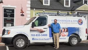 veteran franchisee of klappenberger & Son