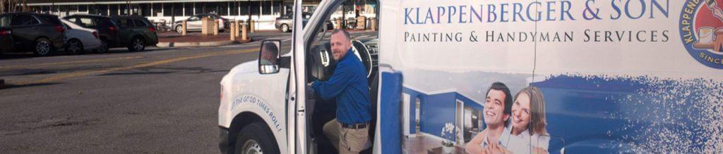 Painting & Handyman Franchisee Daniel Tucker of Klappenberger & Son