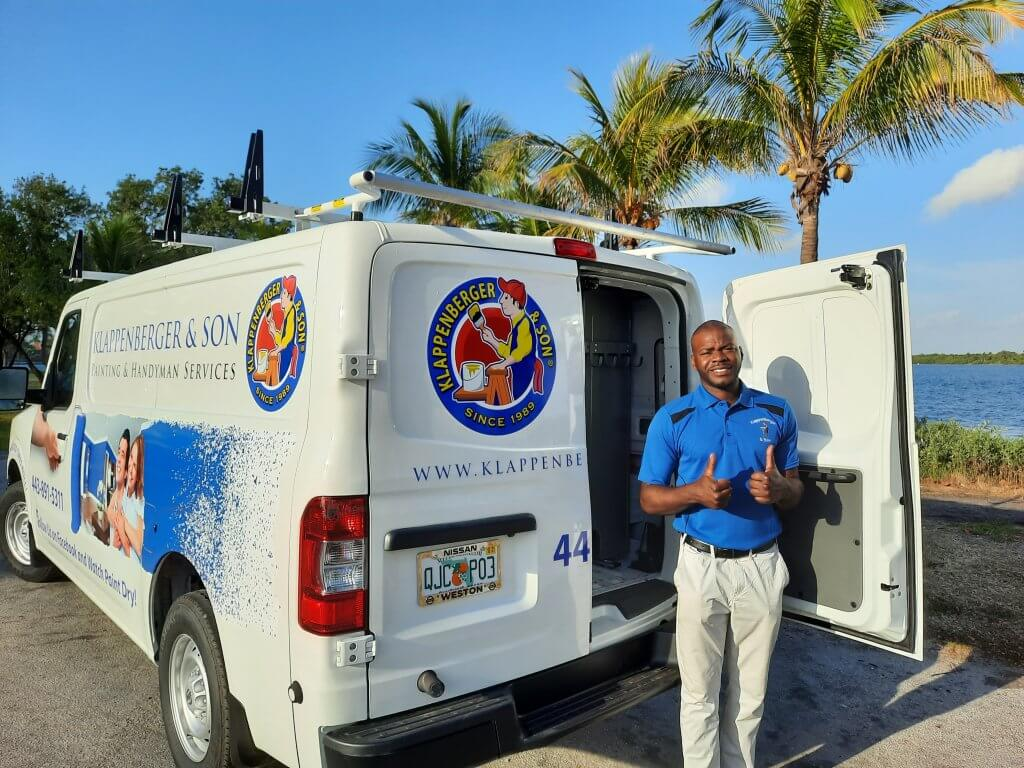 starting a painting company or buying a franchise is a hard decision. Rasheed Bowen chose to buy a franchise because of the training support and this beautiful van!
